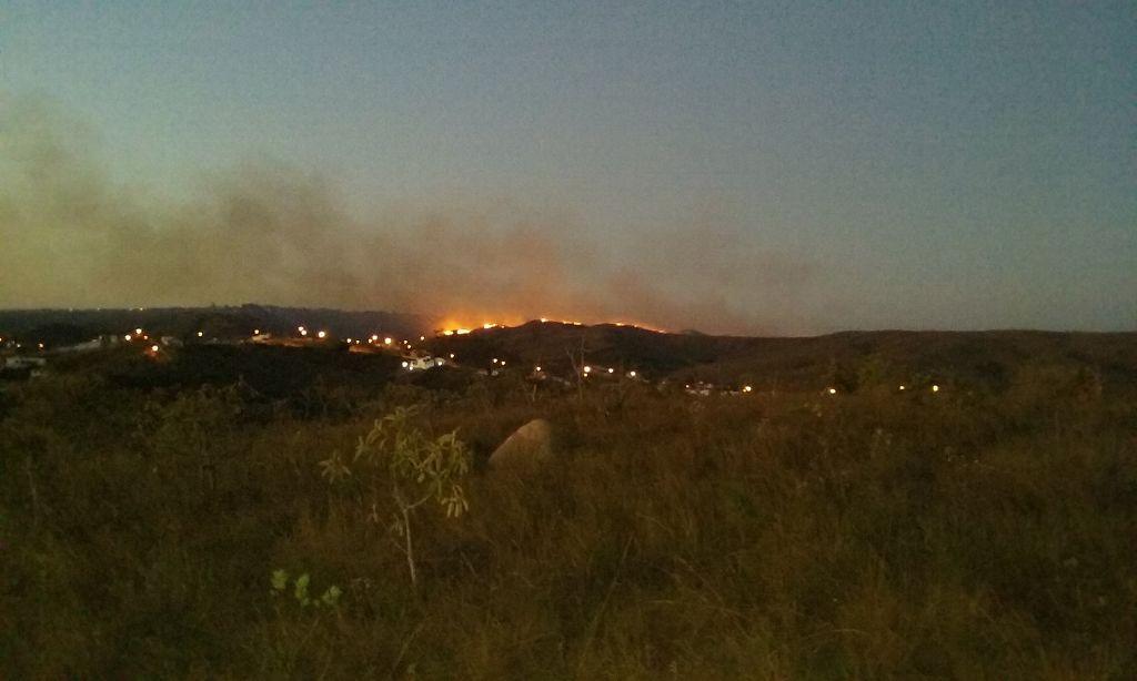 Der Berg brennt